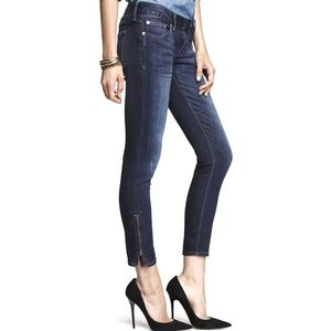 Express Jeans - stella ankle zip legging jeans